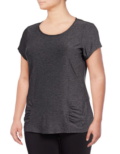 Gaiam Plus Energy Tee-GREY-1X