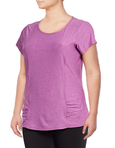 Gaiam Plus Energy Tee-PURPLE-2X