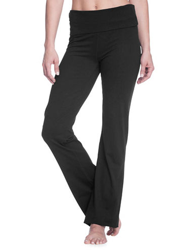 Gaiam Om Nova Bootcut Pants-BLACK-Large 89750588_BLACK_Large