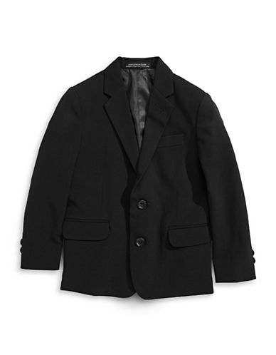 Calvin Klein Stretch Sports Jacket-BLACK-4