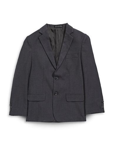 Calvin Klein Fine Line Twill Jacket-GREY-7