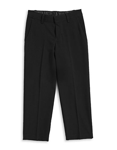 Calvin Klein Modern-Fit Pants with Pockets-BLACK-7