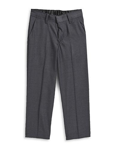 Calvin Klein Modern Fit Fine Twill Pants-GREY-7