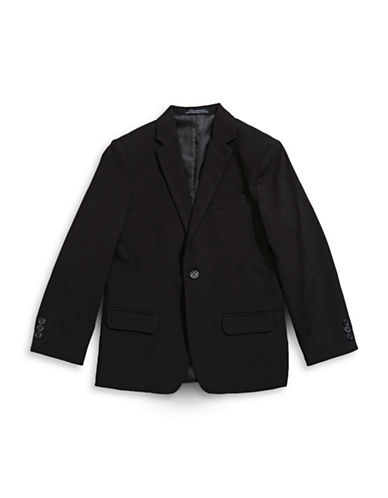 Calvin Klein Modern-Fit Bi-Stretch Jacket-BLACK-8