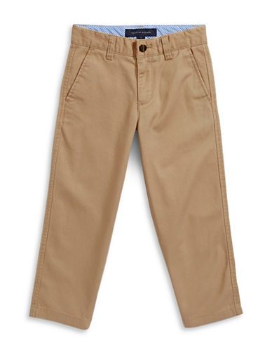Tommy Hilfiger Twill Chinos-GOLD/KHAKI-2