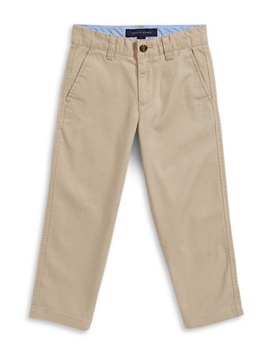 Tommy Hilfiger Twill Chinos-TRAVEL KHAKI-2