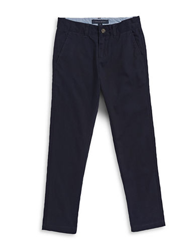 Tommy Hilfiger Twill Chinos-NAVY-2