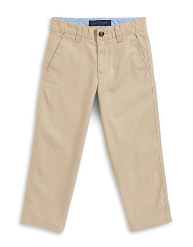 Tommy Hilfiger Twill Chinos-TRAVEL KHAKI-8