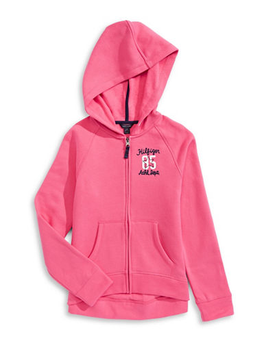 Tommy Hilfiger Active Logo Hoodie-PINK-X-Large 88814750_PINK_X-Large