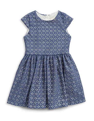 Kate Spade New York Kimberly Lace Dress-BLUE-14