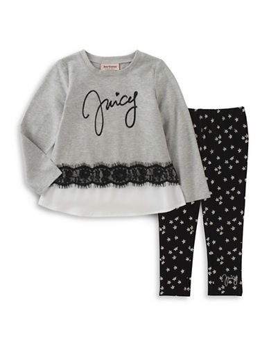 Juicy Couture Juicy Star Tunic and Leggings Set-ASSORTED-4