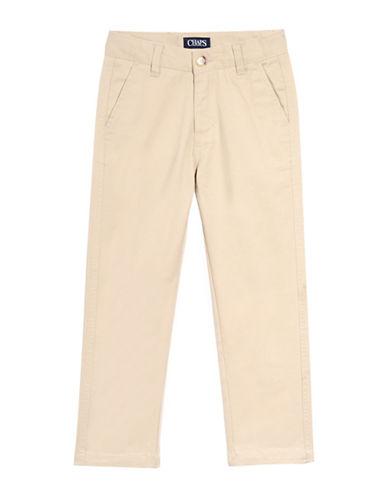 Chaps Twill Pants-BEIGE-12