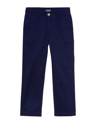 Chaps Twill Pants-BLUE-10
