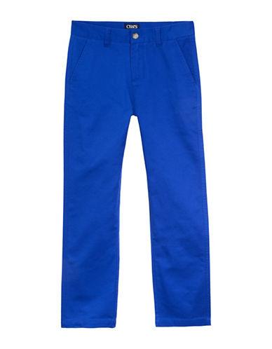 Chaps Twill Pants-BLUE-18