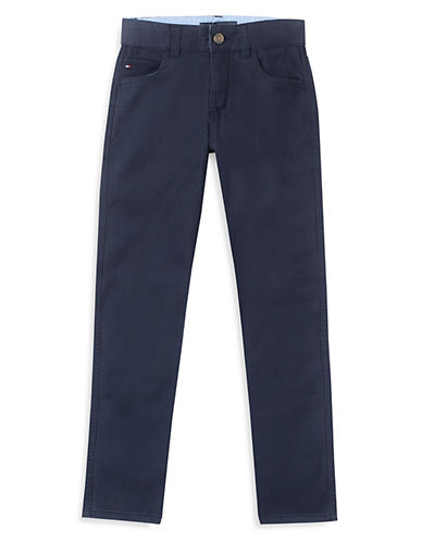 Tommy Hilfiger Trent Buttoned Jeans-BLUE-5