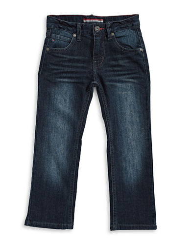 Tommy Hilfiger Revolution Stretch Slim-Fit Jeans-BLUE-6
