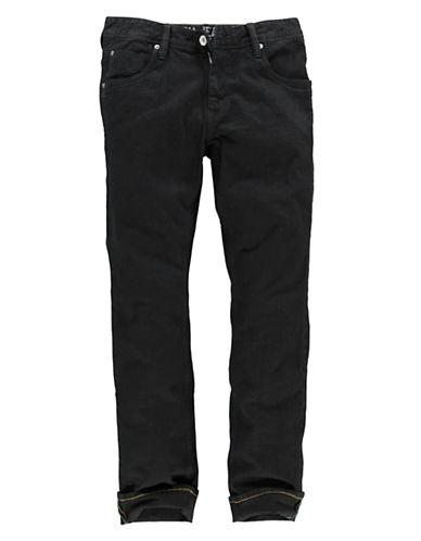Garcia Russo Regular fit / straight leg-BLACK-31X34