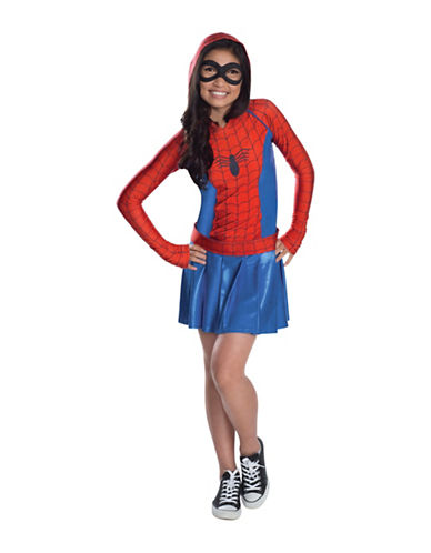 Rubies Costumes Spidergirl Hooded Dress Costume-MULTI-Large