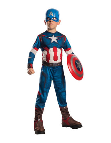 Rubies Costumes Avengers 2 Captain America Costume-MULTI-Medium