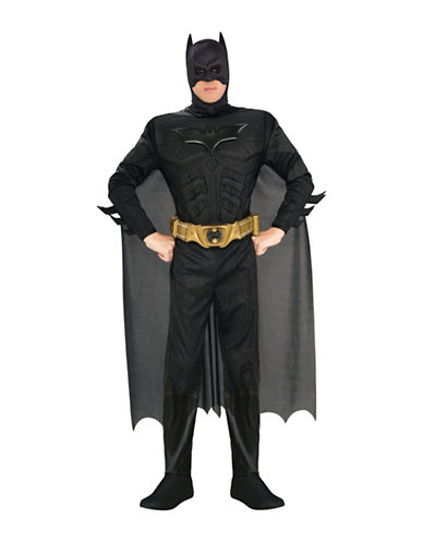 Rubies Costumes Batman Muscle Chest Deluxe Adult Costume-BLACK-Large
