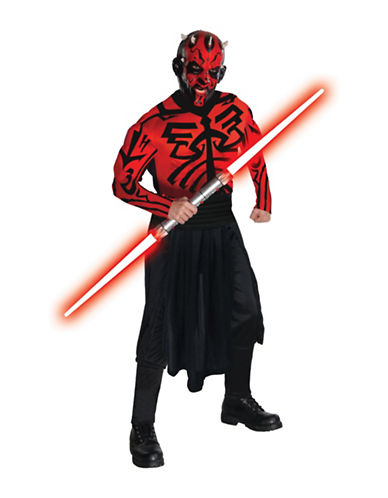 Rubies Costumes Darth Maul Deluxe Adult Costume-BLACK-Large
