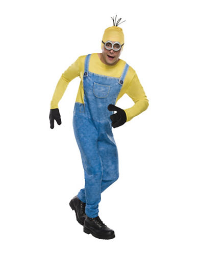 Rubies Costumes Minion Kevin Adult Costume-YELLOW-Large