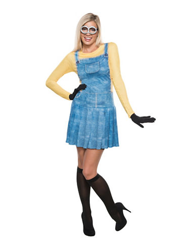 Rubies Costumes Womens Minion Costume-YELLOW/BLUE-Large