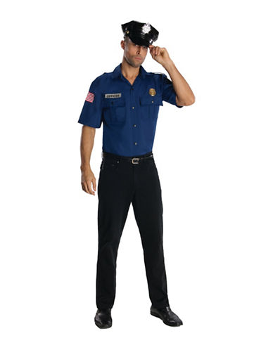 Rubies Costumes Police Officer Adult Costume-BLUE-Large