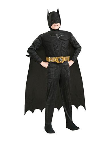 Rubies Costumes Batman Muscle Chest Deluxe Costume-BLACK-Medium