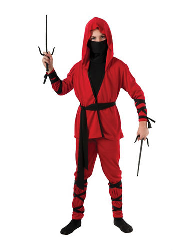 Rubies Costumes Kids Ninja Lord Costume-RED-Large