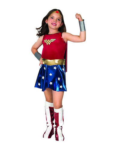 Rubies Costumes Wonder Woman Child Costume-MULTI-Medium