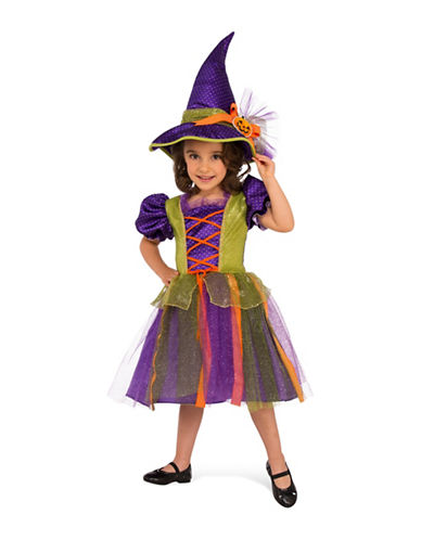 Rubies Costumes Kids Pumpkin Witch Costume-PURPLE-Medium