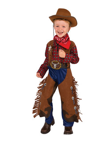 Rubies Costumes Kids Little Wrangler Costume-BROWN-Small