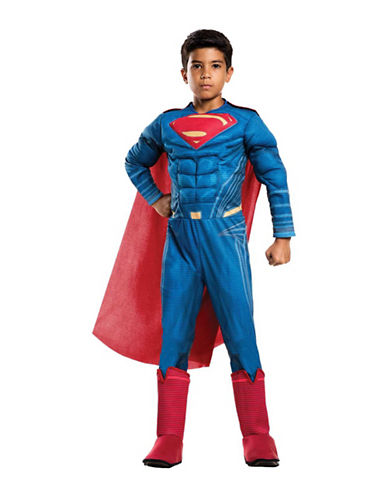 Rubies Costumes Justice League Superman Deluxe Kids Costume-BLUE/RED-Large