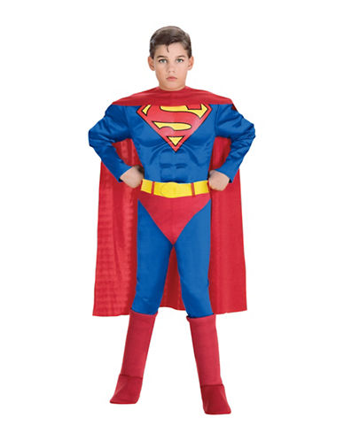 Rubies Costumes Superman Deluxe Muscle Chest Child-MULTI-Small