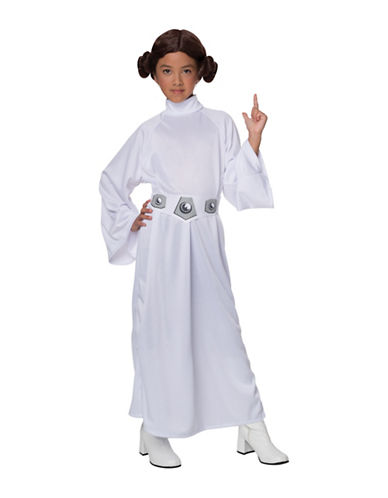 Rubies Costumes Princess Leia Deluxe Child Costume-MULTI-Small