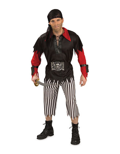 Rubies Costumes Pirate King Adult Costume-RED-Large