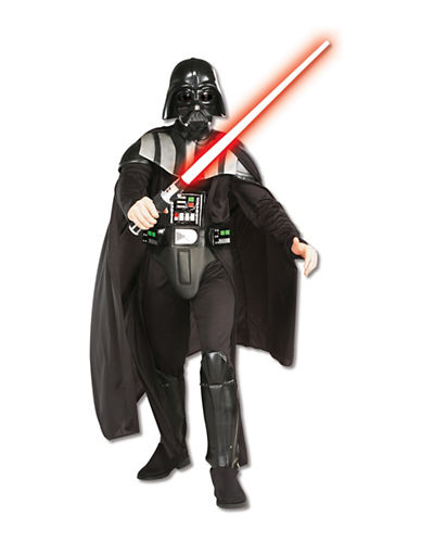 Rubies Costumes Star Wars Darth Vader Deluxe Adult Costume-BLACK-Large