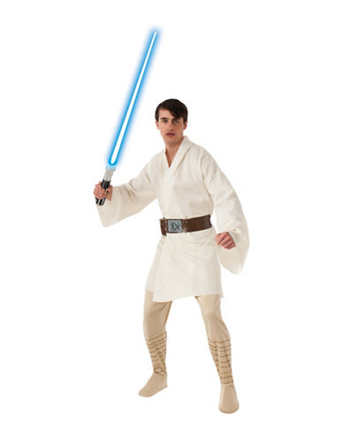 Rubies Costumes Luke Skywalker Deluxe Adult Costume-BEIGE-Large