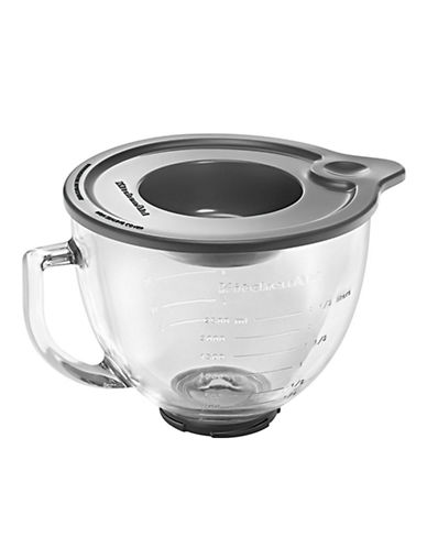 Kitchenaid Glass Bowl Stand Mixer Attachment-CLEAR-One Size