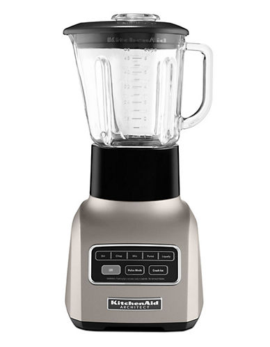 Kitchenaid Architect Series Blender Cocoa Silver-SILVER/BLACK-One Size 83139691_SILVER/BLACK_One Size