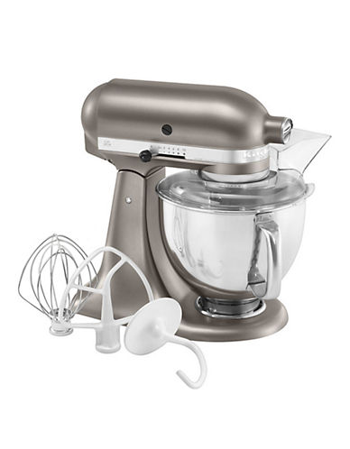 Kitchenaid Architect Series Stand Mixer With Stainless Steel Bowl - Cocoa Silver-COCOA SILVER-One Size