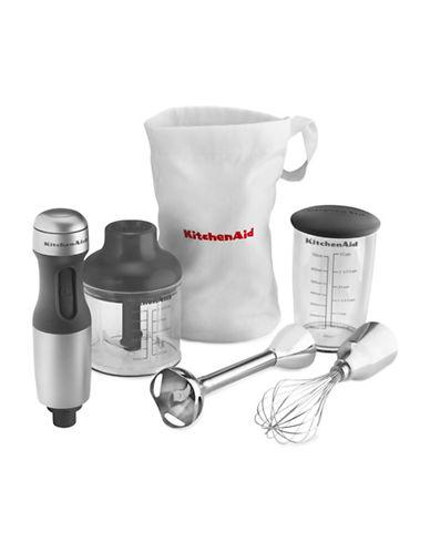 Kitchenaid Three-Speed Stainless Steel Hand Blender photo