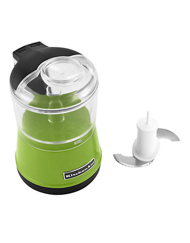 Kitchenaid 3.5 Cup Food Chopper with One Touch Operation and 2 Speeds-GREEN APPLE-One Size
