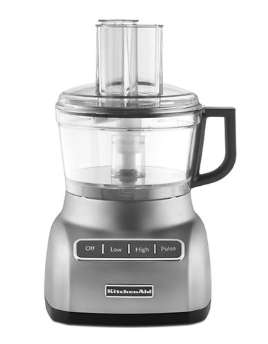 Kitchenaid 7 Cup Food Processor Contour Silver-SILVER-One Size 85537115_SILVER_One Size