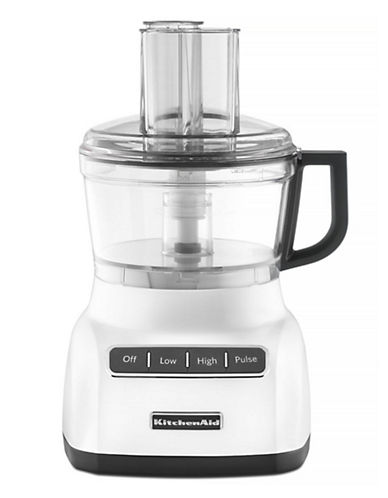 Kitchenaid 7-Cup Food Processor with ExactSlice TM System-WHITE-One Size