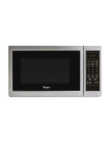 Whirlpool Wmc11009as 0 9 Cu Ft Countertop Microwave With Tap Touch Controls Stainless Steel