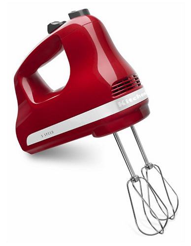 Kitchenaid Five-Speed Ultra Power Hand Mixer-EMPIRE RED-One Size