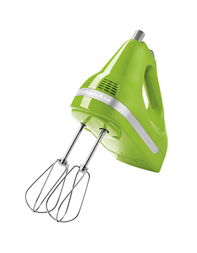 Kitchenaid Five-Speed Ultra Power Hand Mixer-GREEN APPLE-One Size