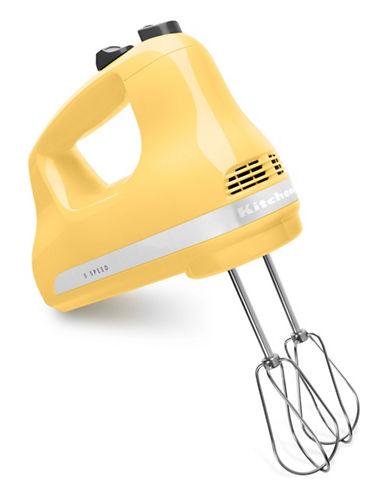 Kitchenaid Five-Speed Ultra Power Hand Mixer-MAJESTIC YELLOW-One Size